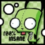 Wht color is Gir's dog suit?