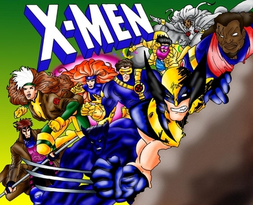 Who was the artist who drew the X-men?