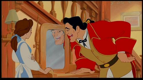 What instrument is NOT a part of the band hired por Gaston to perform at his wedding?