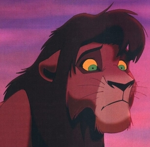 What happens to Kovu at the end of the lion king 2.