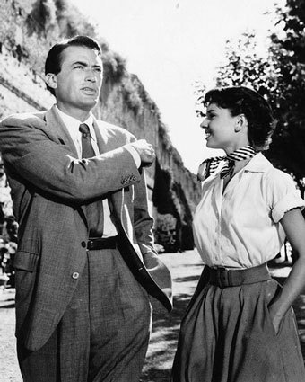 "In ""Roman Holiday"" Gregory played ?"