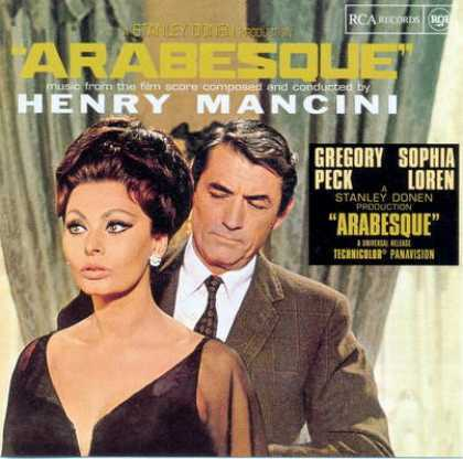 """In """"Arabesque"""" Gregory played ?"""