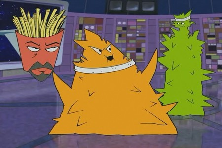 Aqua teen hunger force drunk aliens