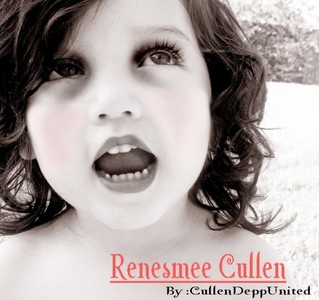 Who imprinted on Renesmee?