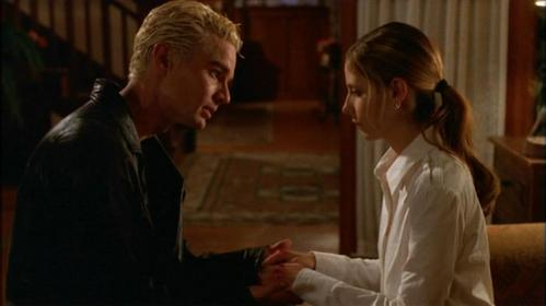 Who were the two people that knew what happened to Buffy's hands?