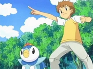 This is Tyler's Piplup. What is its nickname?