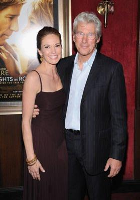 In how many فلمیں did Richard Gere and Diane Lane play a couple?