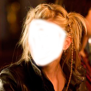 Which actress sported this hairstyle in a film?