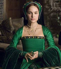 What's real surname of an actress who plays Anne Boleyn?