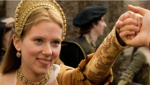 What's real surname of an actress who plays Mary Boleyn?