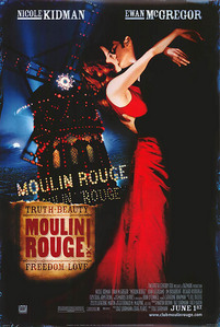 Who directed Moulin Rouge?
