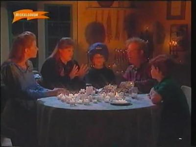 Clarissa: What was the name of Clarissas dead uncle (aunt Mafaldas dead husband), who they contact through the seance?