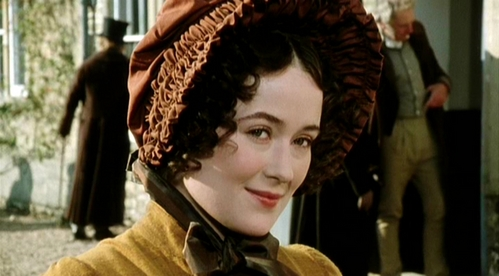 FROM THE 1995 MINISERIES: Who is Lizzie smiling at in this scene?