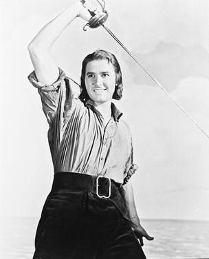 what film launched Errol Flynn as a star?