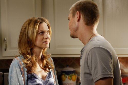 """In which grade did Lucas predict that """"Peyton Sawyer will become Peyton Scott""""?"""