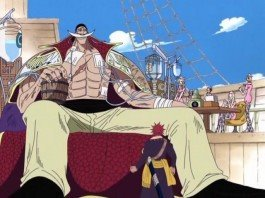 Who is Whitebeard's First Division Commander?
