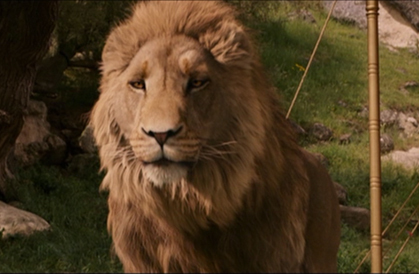 "Who voiced Aslan in ""The Lion, the Witch, and the Wardrobe"" and ""Prince Caspian""?"