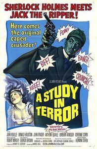 "In ""A Study in Terror"" who portrayed Sherlock Holmes ?"
