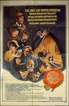 """In """"Murder by Decree"""" who portrayed Sherlock Holmes ?"""