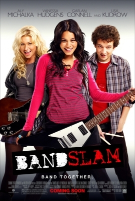 when is band slam (vanessa's new movie) coming in theeters?