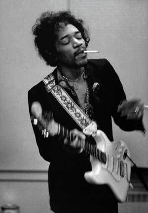 Jimi Hendrix was a fan of The Beatles.