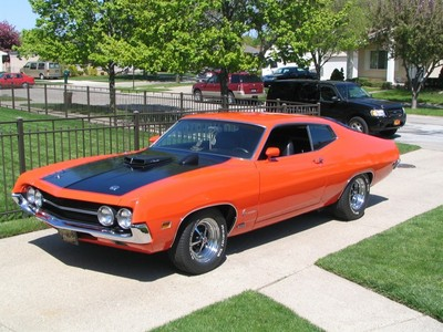 Ford Torino was produced by the Ford Motor Company between ?