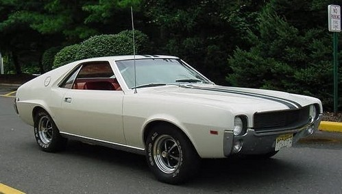 AMC AMX - Who is the designer ?