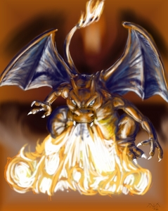 What move as a Fire-type starter can Charizard learn?