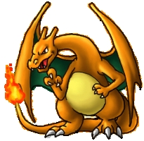 True/False:A Pokemon has the same base stats as Charizard?
