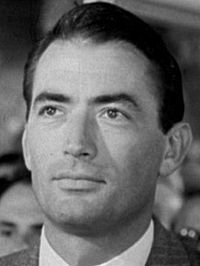 Before They Were Famous - What kind of job did Gregory Peck do for a short time ?