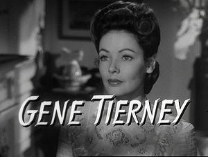 Before They Were Famous - Gene Tierney attended a finishing school in .........?