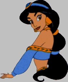 Who does Princess Jasmine's speaking voice?