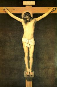 "Who painted ""The Crucifixion of Jesus"" ?"