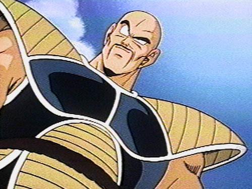 Has Nappa always been bald?