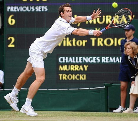 Which Grand Slam did Murray first reach the final of?