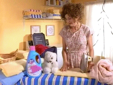 What fabric softener brand did this skit advertise?