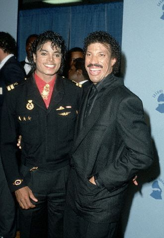 Who is in the photo with Michael?
