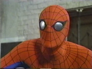 WHO PLAYED PETER PARKER/SPIDER-MAN IN THE AMAZING spin MAN PILOT EPISODE?