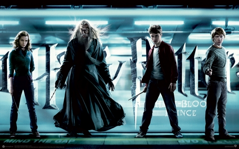 """Harry Potter and the Half-Blood Prince (Movie) - Who said: """"Times like these, dark times, they do funny things to people."""""""