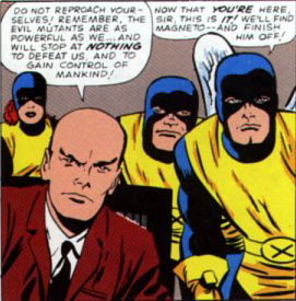 IN THE X-MEN COMICS, DID PROFESSOR X REALLY DIE ?