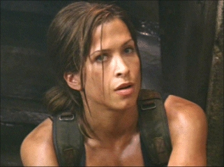 naked chick in new riddick movie