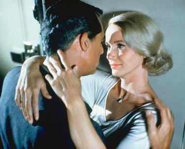 What is the name of Eva Marie Saint in the film North oleh North West ?