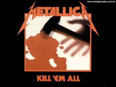 what was the original name for the album kill'em all?