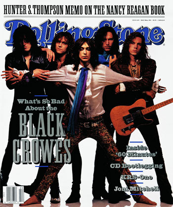 SIBLINGS IN BANDS? - The Black Crowes?