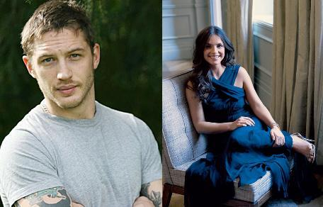 In which mini series do Tom Hardy and charlotte Riley play a couple?