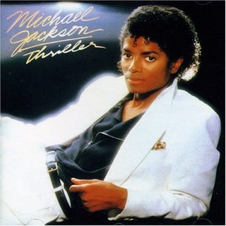 Michael Jackson releases Thriller, which becomes the best selling album of all time. In ?