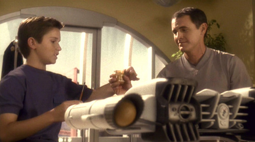 Captain Archer's father designed warp engines. What was his name?