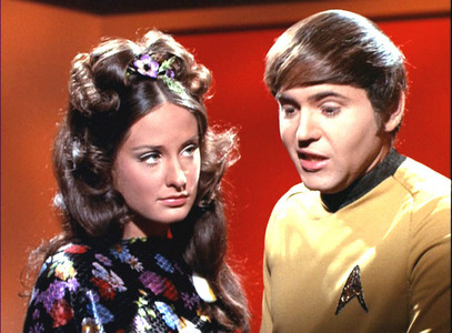 "In ""The Way to Eden"", we meet an ex-girlfriend of Chekov. What is her name?"