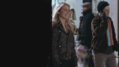 who is walking beside Rose?