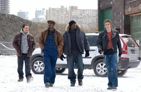 All of the snow seen in the movie, including the falling snow, isn't real.